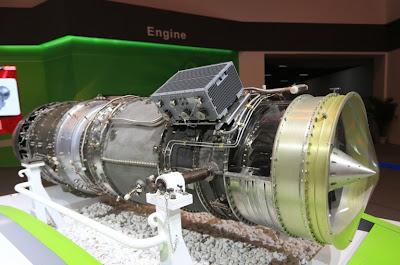 AVIC Unveils New Minshan Aircraft Engine At Airshow China 2012