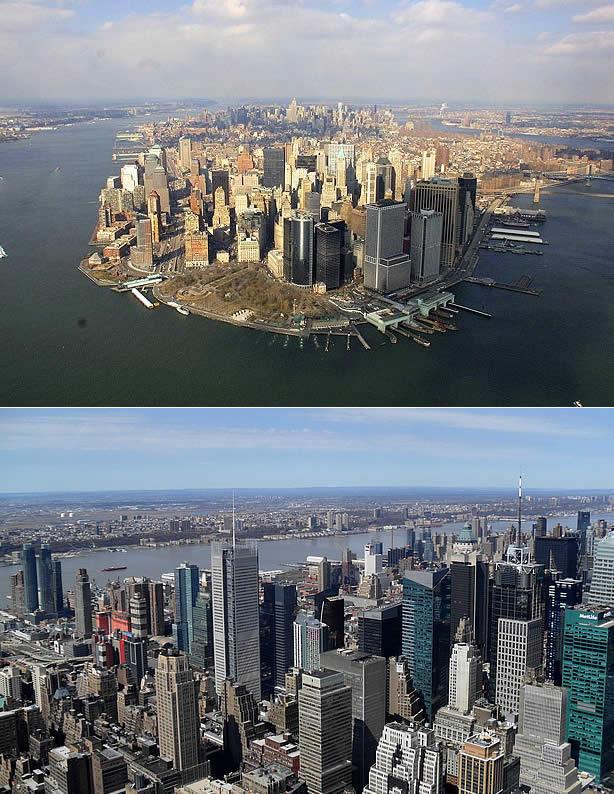Tour aéreo sobre Nova York
