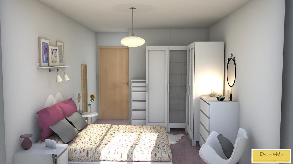 Decor me proyecto de dormitorio estilo n rdico for Dormitorio estilo nordico ikea