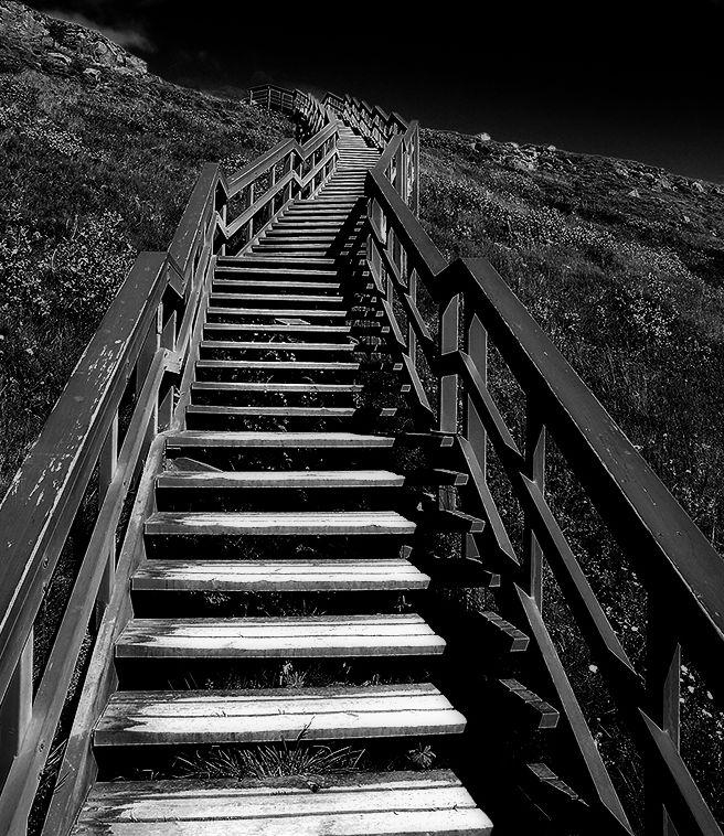 Fundida en negro escalando escaleras for Escaleras infinitas