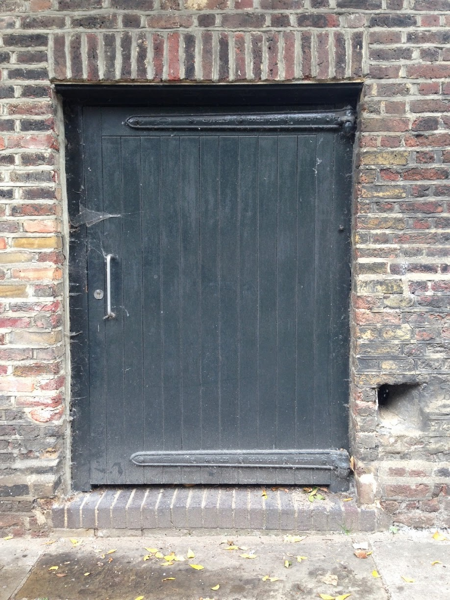 Doorway, Hampstead, London NW3
