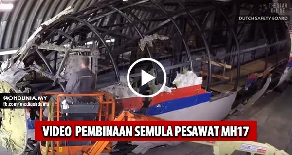 Video pembinaan semula Pesawat MH17 oleh Dutch Safety Board