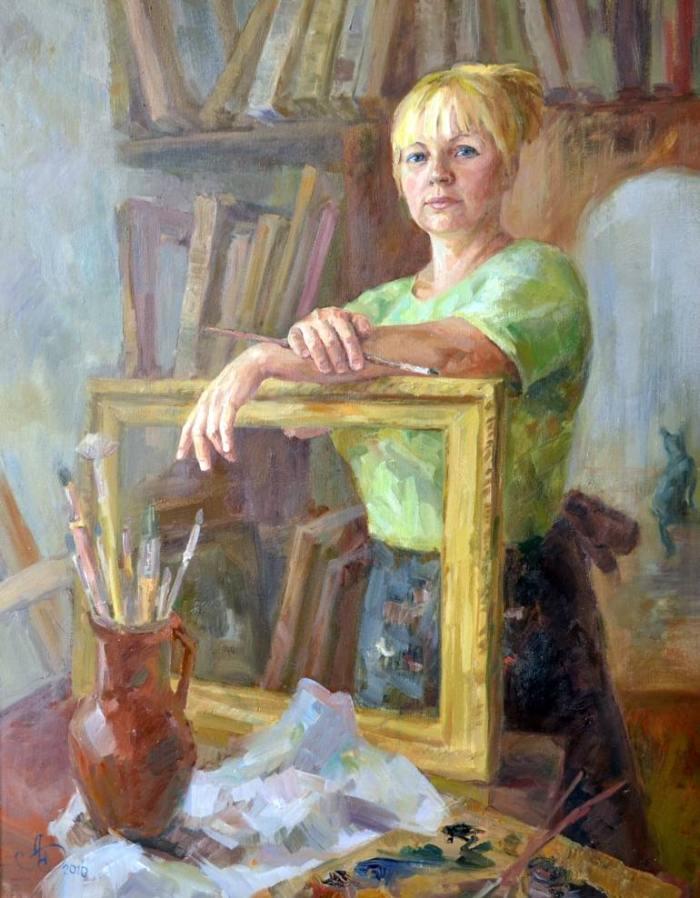Российский художник. Анна Давыдченко