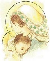 Santa Maria, mãe de Jesus e nossa mãe, rogai a Deus por nós!