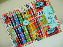 Caderno de desenho para crianças!