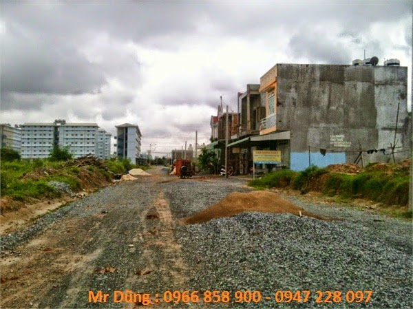 Vị trí trung tâm khu dân cư VSIP 1