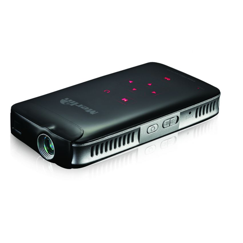 Merlin pocket projector pro thought for Pocket projector video