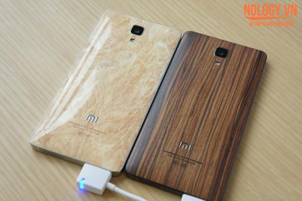 Vỏ lưng của chiếc Xiaomi Mi4