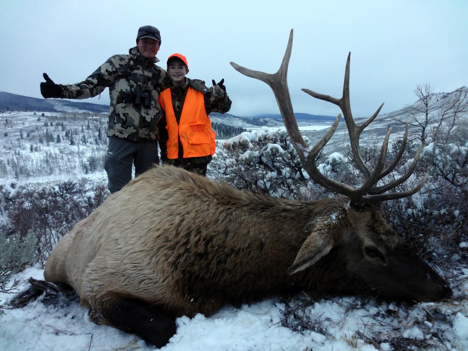 Q Creek Elk Hunting Opening morning of 1st Rifle