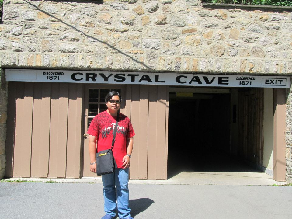 USA Pennsylvania Kutztown PA Crystal Cave
