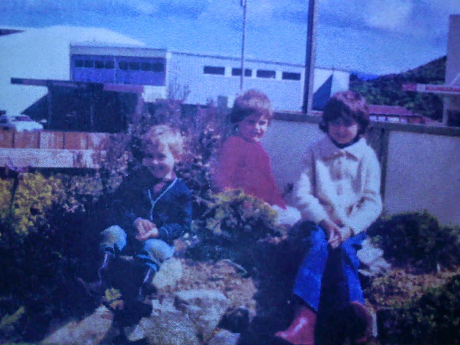 Myself, my brother, and sister, circa 1978.