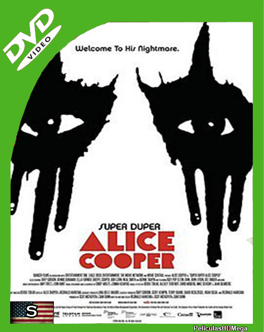 Super Duper Alice Cooper (2014)DVDRip Subtitulado
