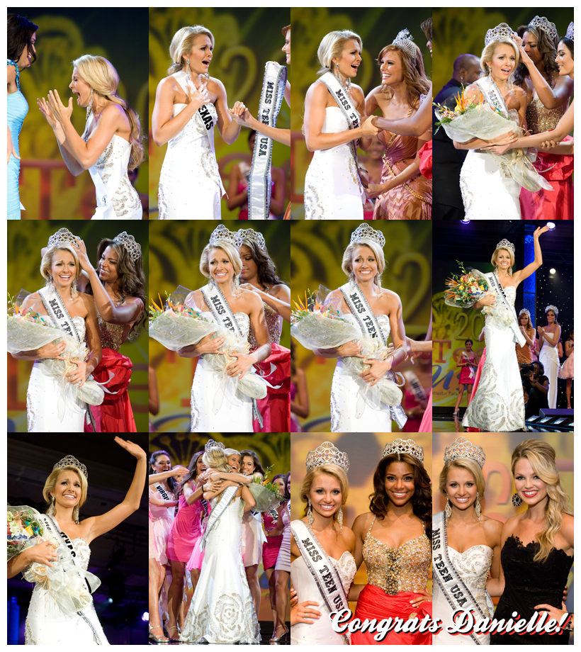 Miss Teen USA. TEXAS. Danielle Doty. 1st RU - North Dakota