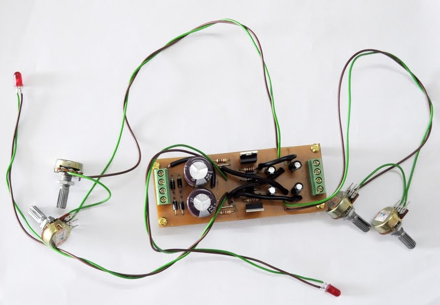Electronic Make It Easy: Simple Adjustable Linear Power Supply dual ...