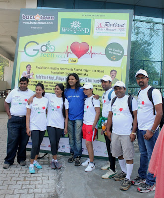 Highlights of go cycling go green