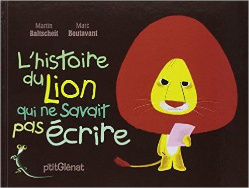blog a la houssaye l 39 histoire du lion qui ne savait pas crire. Black Bedroom Furniture Sets. Home Design Ideas