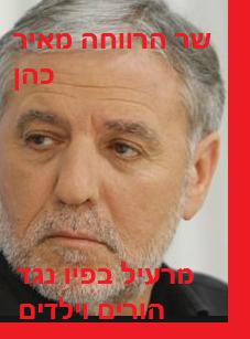 שר הרווחה מאיר כהן - מרעיל בפיו נגד הורים וילדים