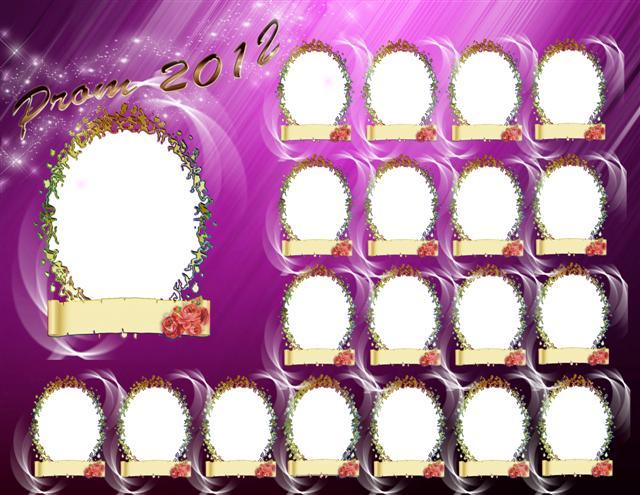 Plantilla Para Colocar La Foto De Tus  Pa  Eros De La Promo 2012