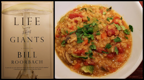 Red Lentil Stew inspired by Life Among Giants by Bill Roorbach