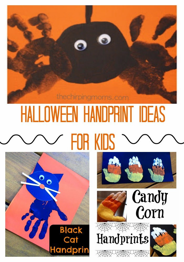 Halloween Handprint Ideas for Kids : The Chirping Moms