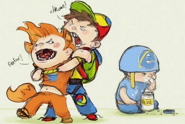Firefox Chrome Explorer Boys