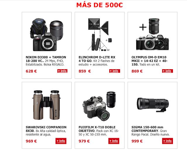 OFERTAS MÁS DE 500€