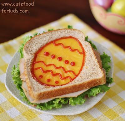 сандвич великденско яйце