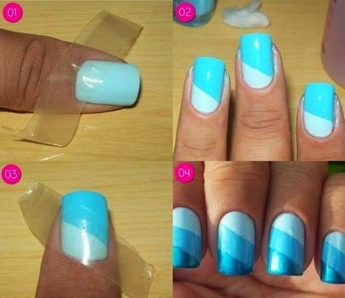 Nails Art Step By Step Tutorial #6.