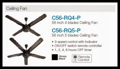 ceiling fan mitsubishi electric