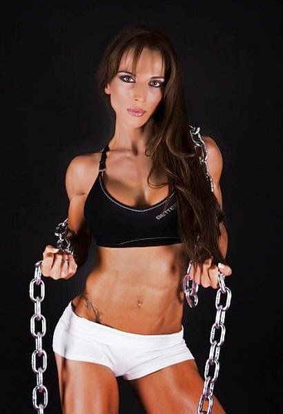 Miriam Sanchez - Spain Body Fitness Champion