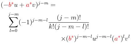 La Mecánica Cuántica: Los grupos de rotación III