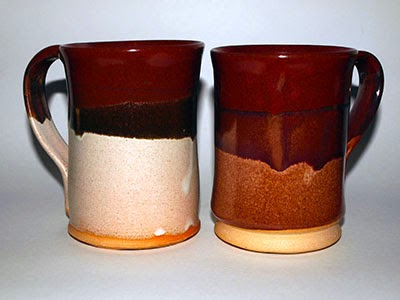 Hand Crafted Ceramic Mugs by Lori Buff