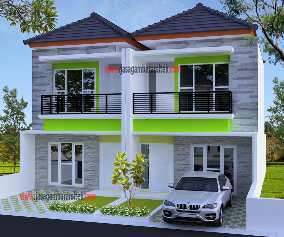 Rumah Pak Bayu Minimalis Layanan Jasa Gambar Arsitek