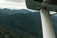 scenery from the plane