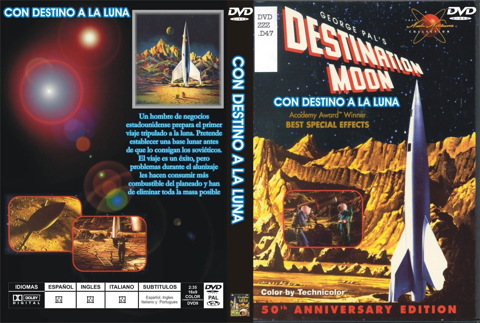 Con destino a la Luna (Destination Moon – 1950)