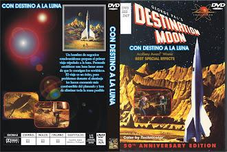 Caratula dvd: Con destino a la Luna (1950) (Destination Moon)