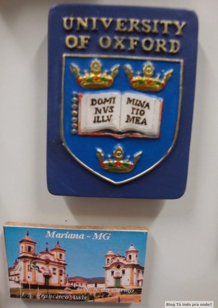 Imãs de Oxford e Mariana-MG