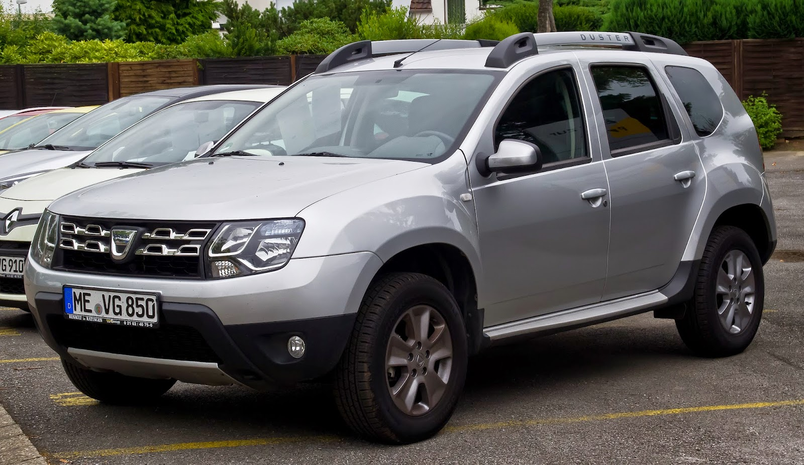 2013 facelifted Dacia Duster. In 2013, 30% of the Duster sold in the world are badged Dacia and 70% are sold under the Renault marque. The Dacia Duster is the third most sold SUV in the world.