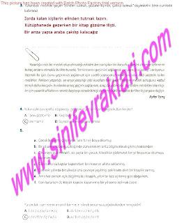 8.Sinif Turkce Enderun Yayinlari Calisma Kitabi Cevaplari Sayfa 36