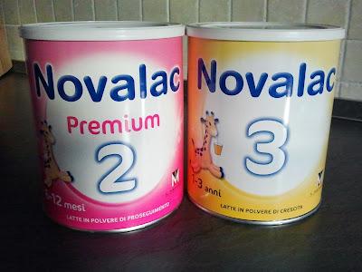 collaborazione con novalac - latte per neonati