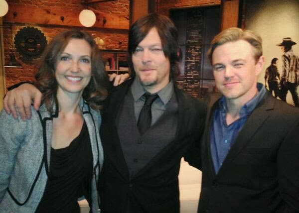 Emily kinney and norman reedus norman reedus and emily kinney