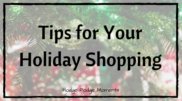 Tips for Your Holiday Shopping