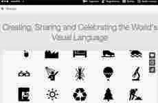 The Noun Project: colección de íconos y símbolos para educadores, diseñadores y desarrolladores