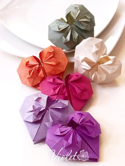 すべての折り紙 折り紙で箱 : 】簡単!折り紙の折り方(箱 ...