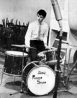 Fifty Year Old Slovak Born Photographer Dezo Hoffman Took This Photo Of Ringo With His Premier Kit In Abbey Road Studio 3 On