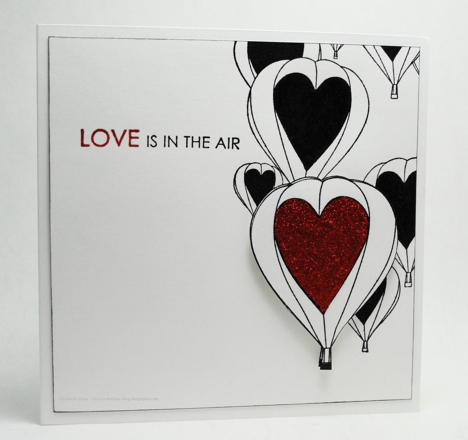 Elizabeth Allan  39 s Art Studio  Love