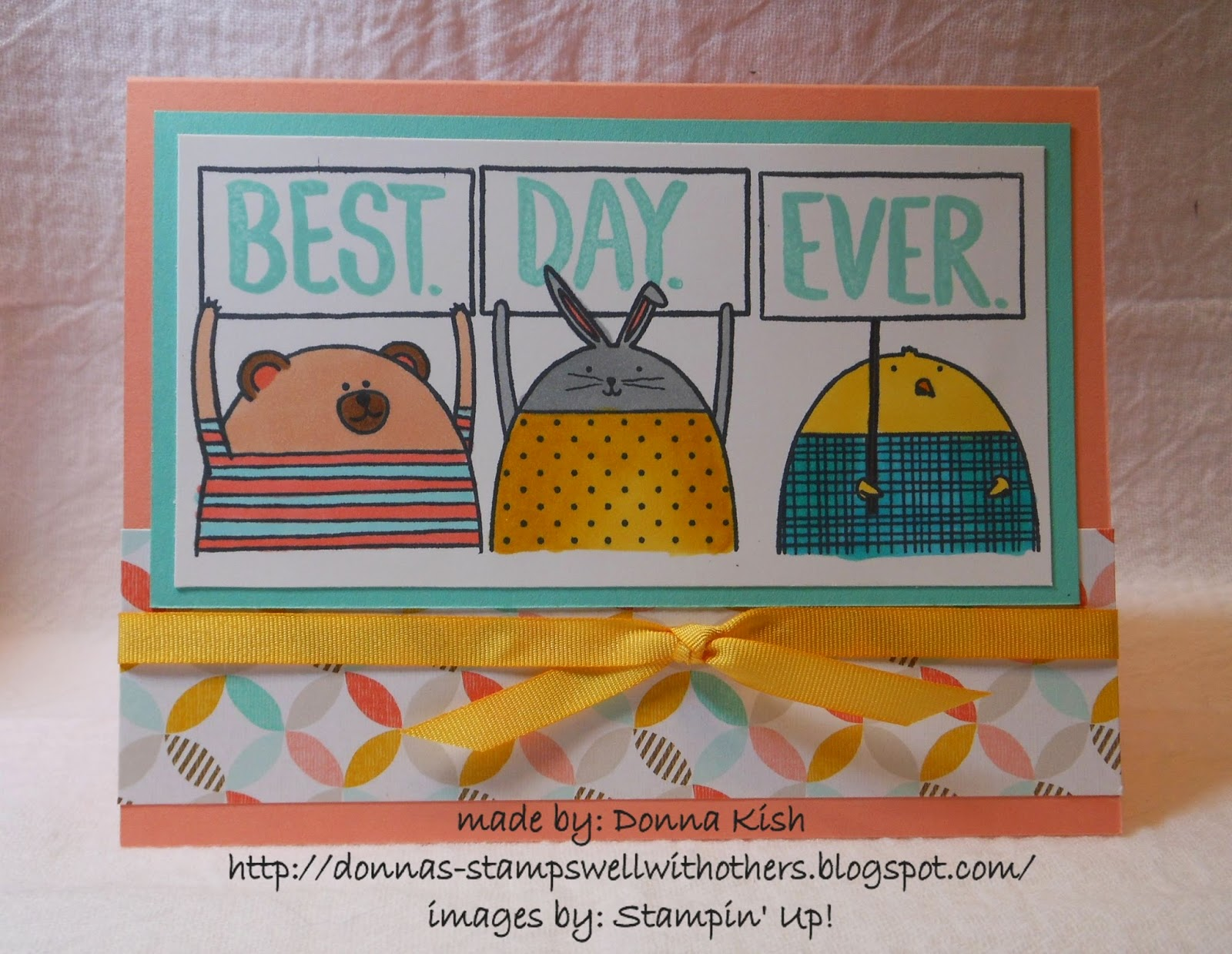 http://donnas-stampswellwithothers.blogspot.com/2015/01/best-day-ever-for-cheerful-critters.html