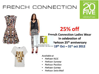 French Connection Parkson Sale Promo 2012