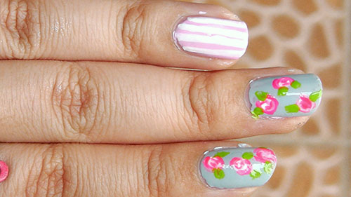 Picture of Floral Nails