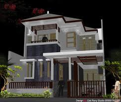 Desain Rumah Taman